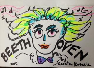 Beethoven by Loreta