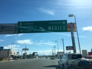 Mexican border in Presidio