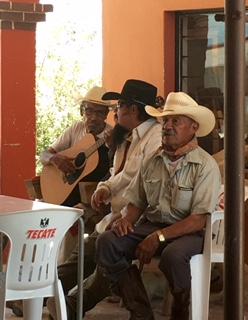 Boquillas Mexico restaurant musicians