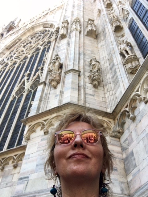 Duomo selfie. Mauro would look better here...