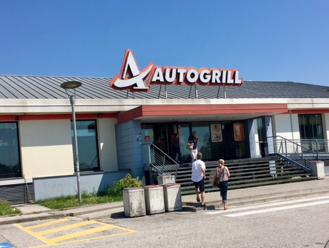 autostrada is fun because of autogrill