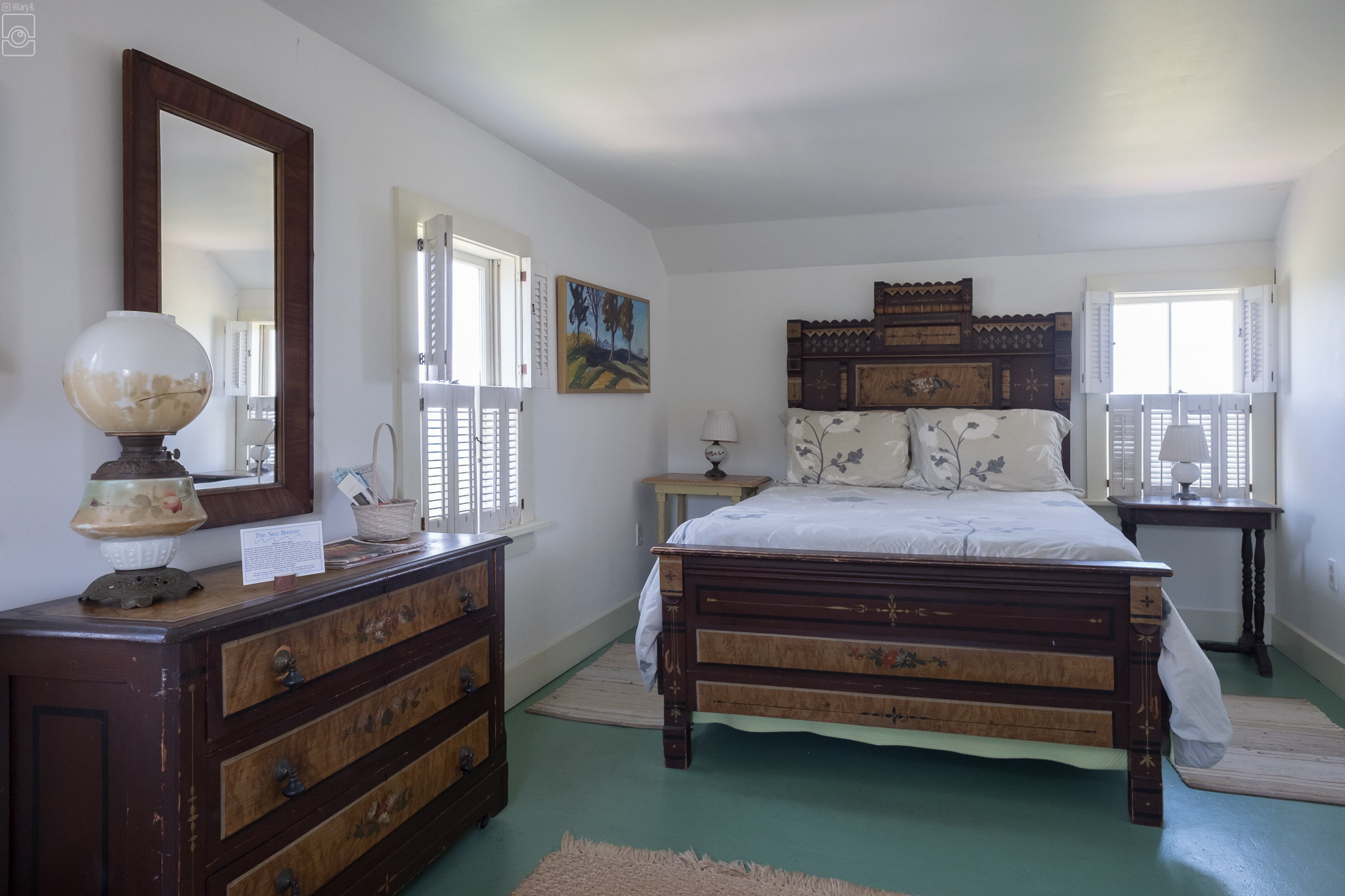 Room 5, one double bed