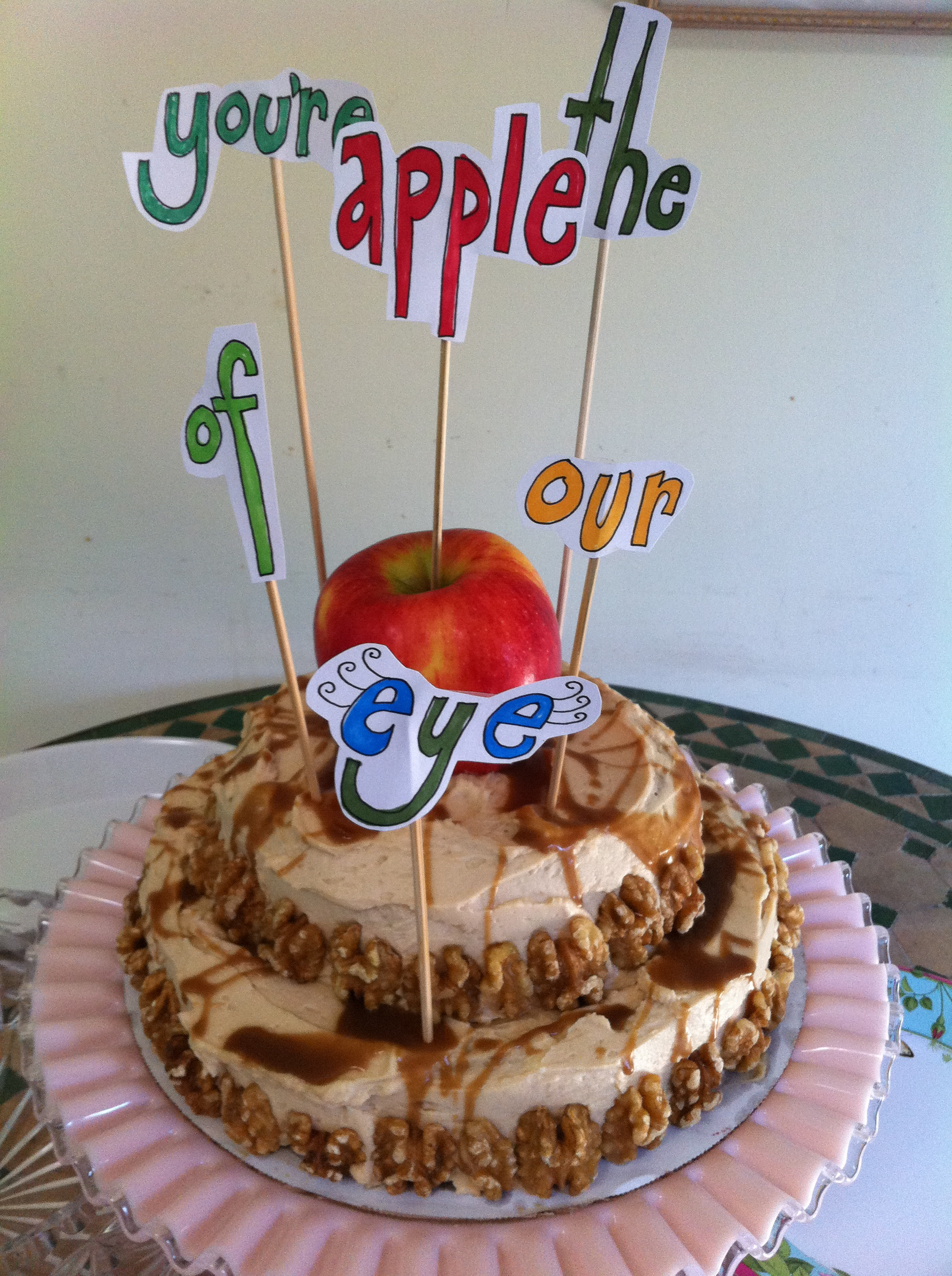 Apple of Our Eye Cake