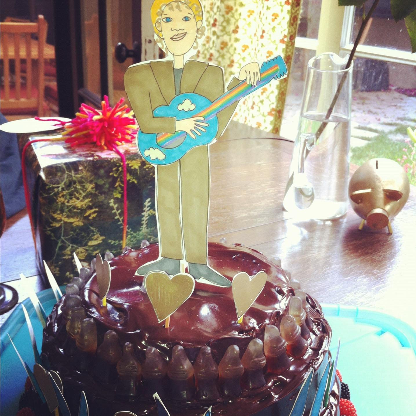 Portrait of a Friend Cake
