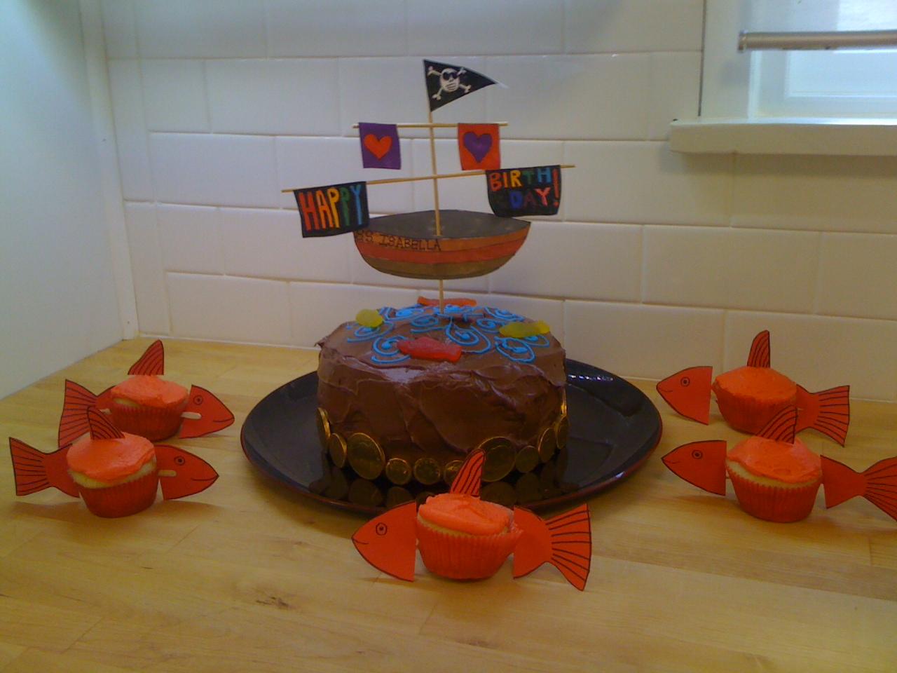 Chocolate Cake Ahoy!