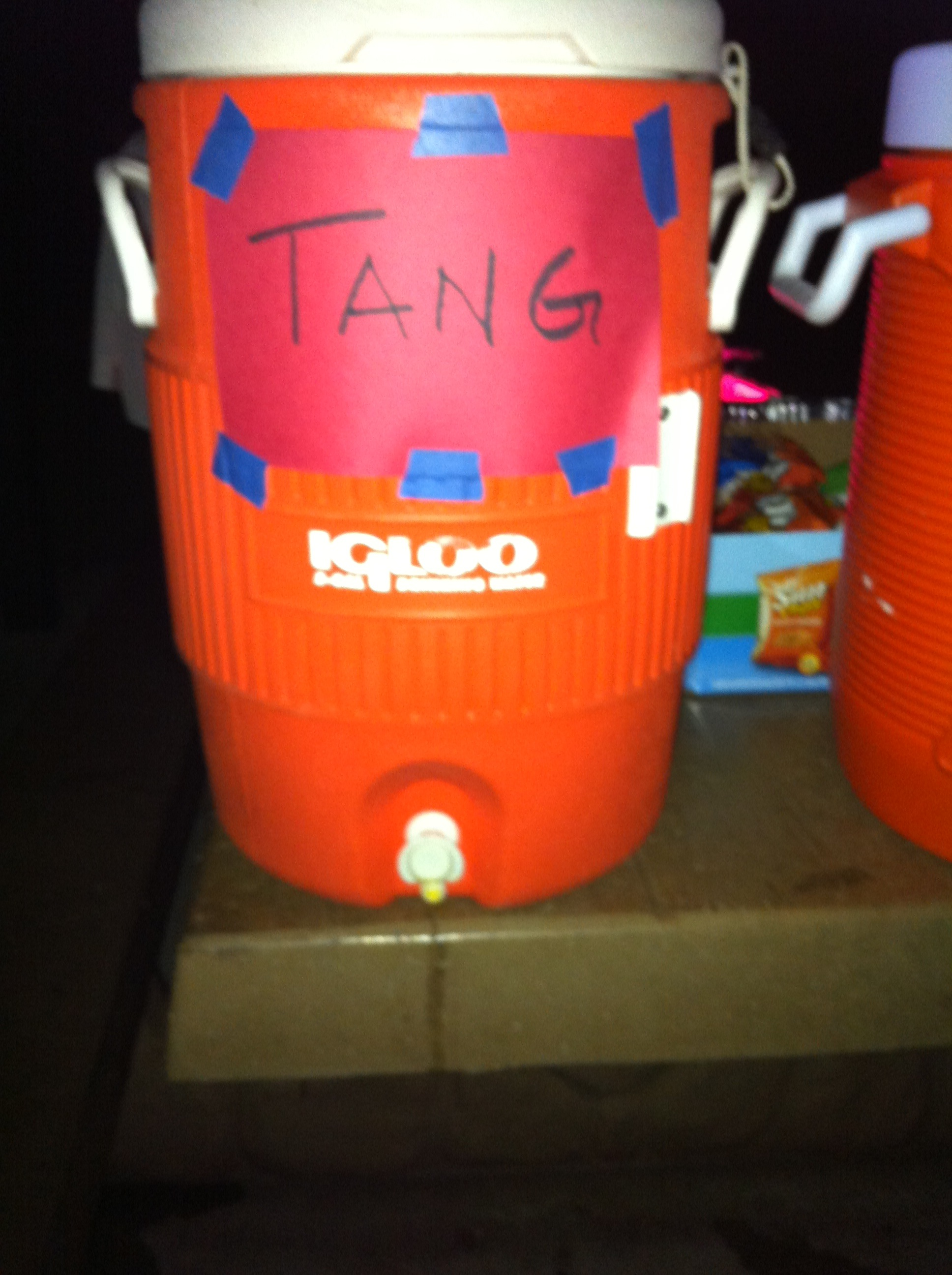 The only thing to serve at a Meteor Party!