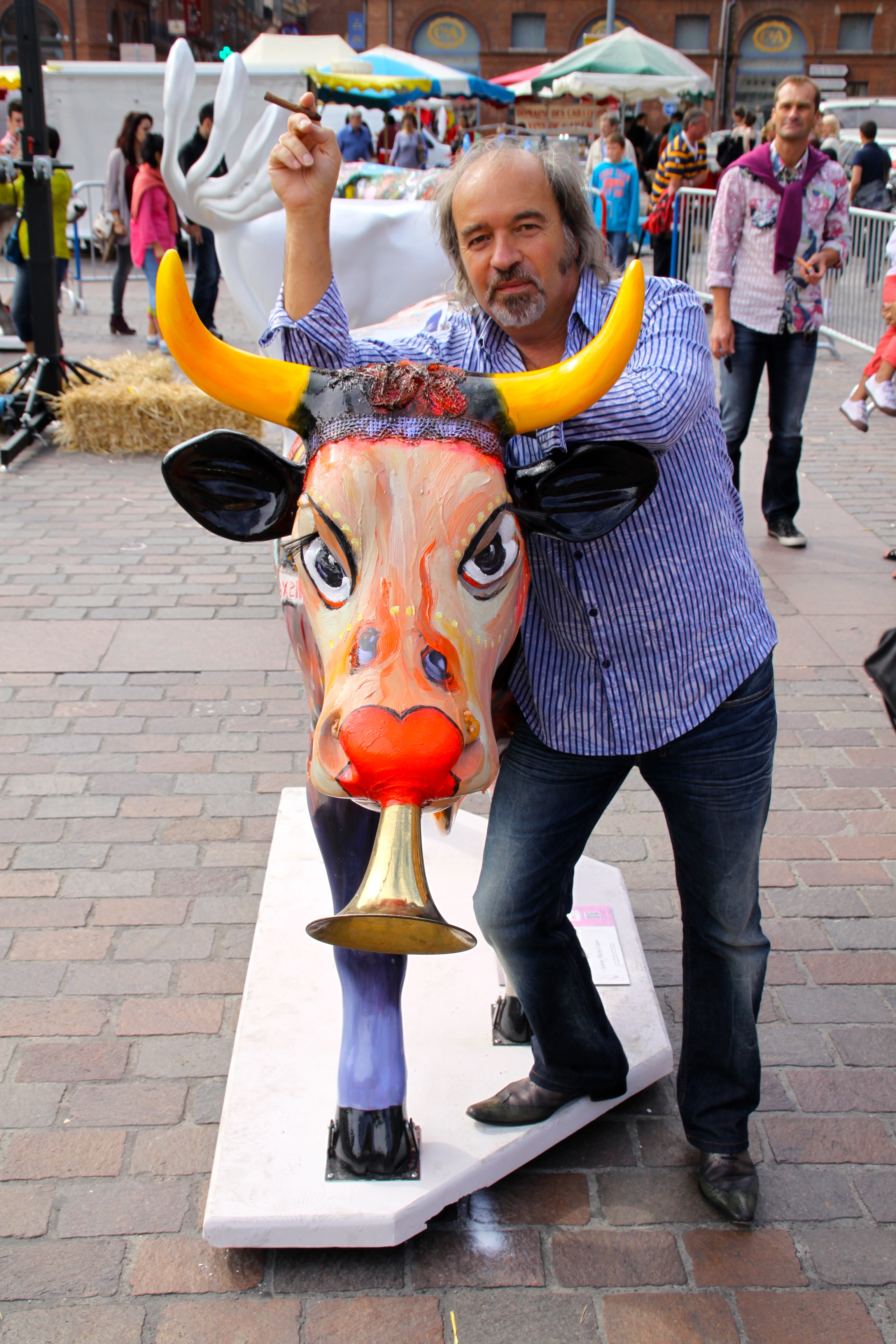 Cow Parade Toulouse 2012