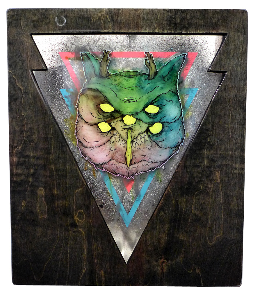 Amplified Pursuer: The Great Horned Owl
