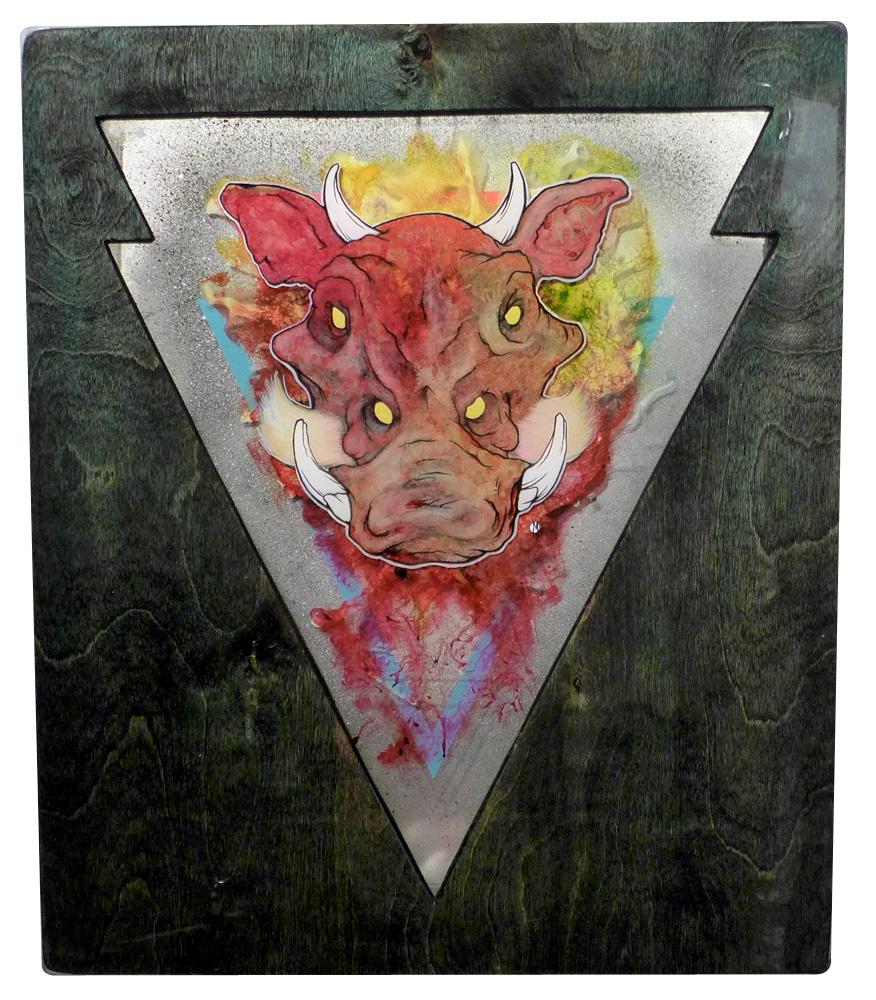 Amplified Pursuer: The Hog