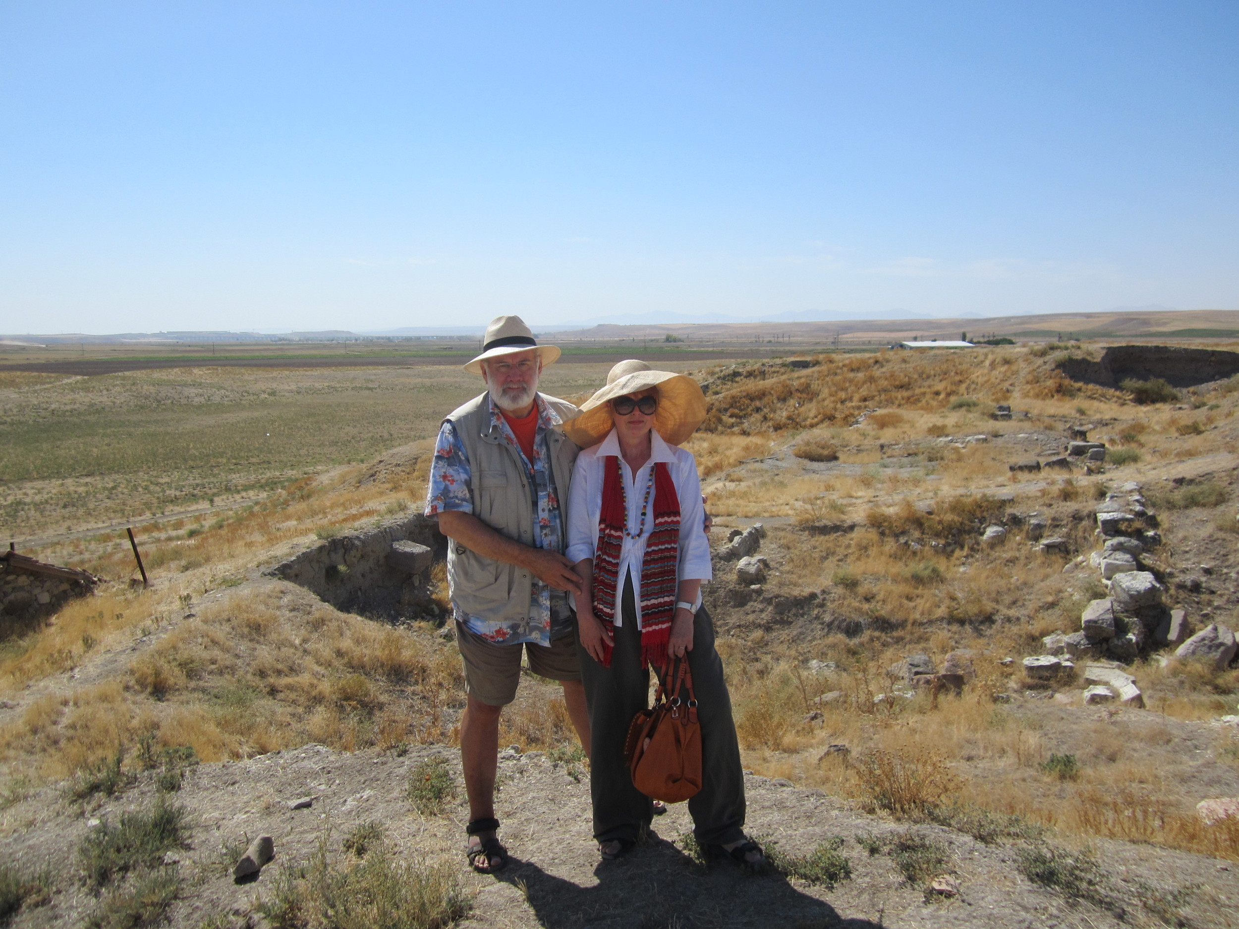 The Anatolian Plateau, the last stage for the great camel caravans of the Silk Road.