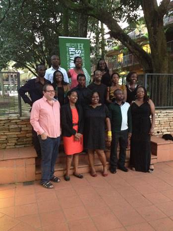 Photocall for the non-fiction writers