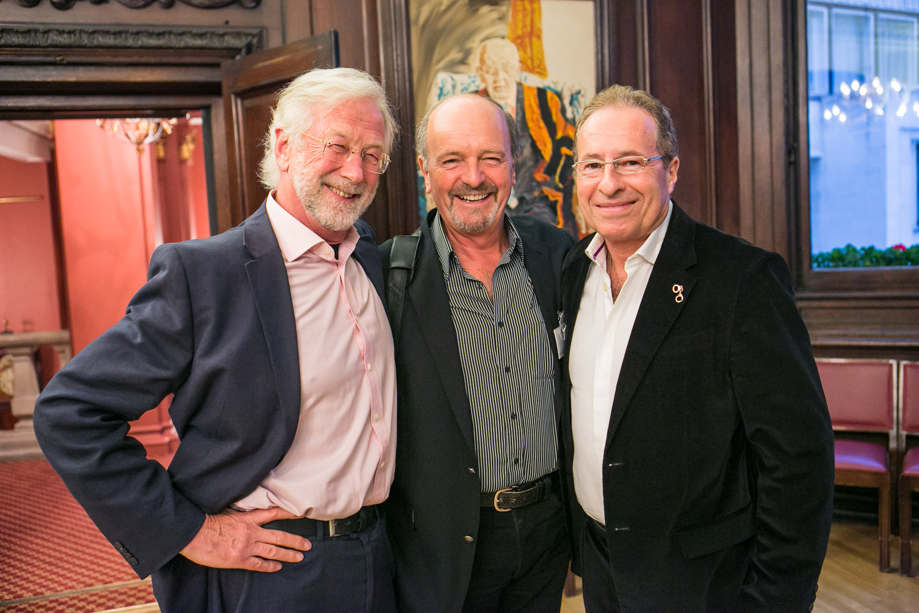 Bill Samuel, Tony Mulliken, Peter James