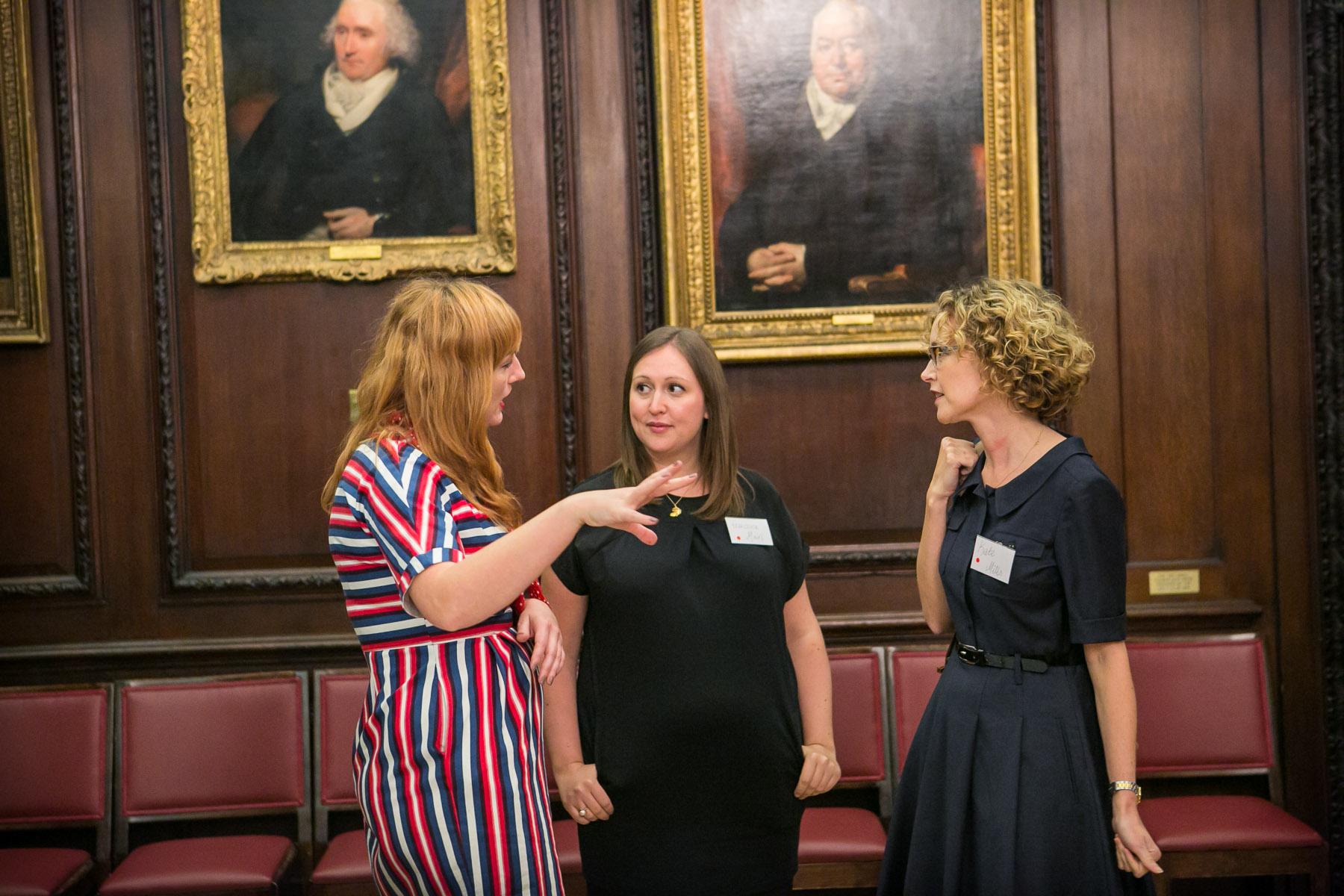 Juliet Pickering, Francesca Main, Kate Mills