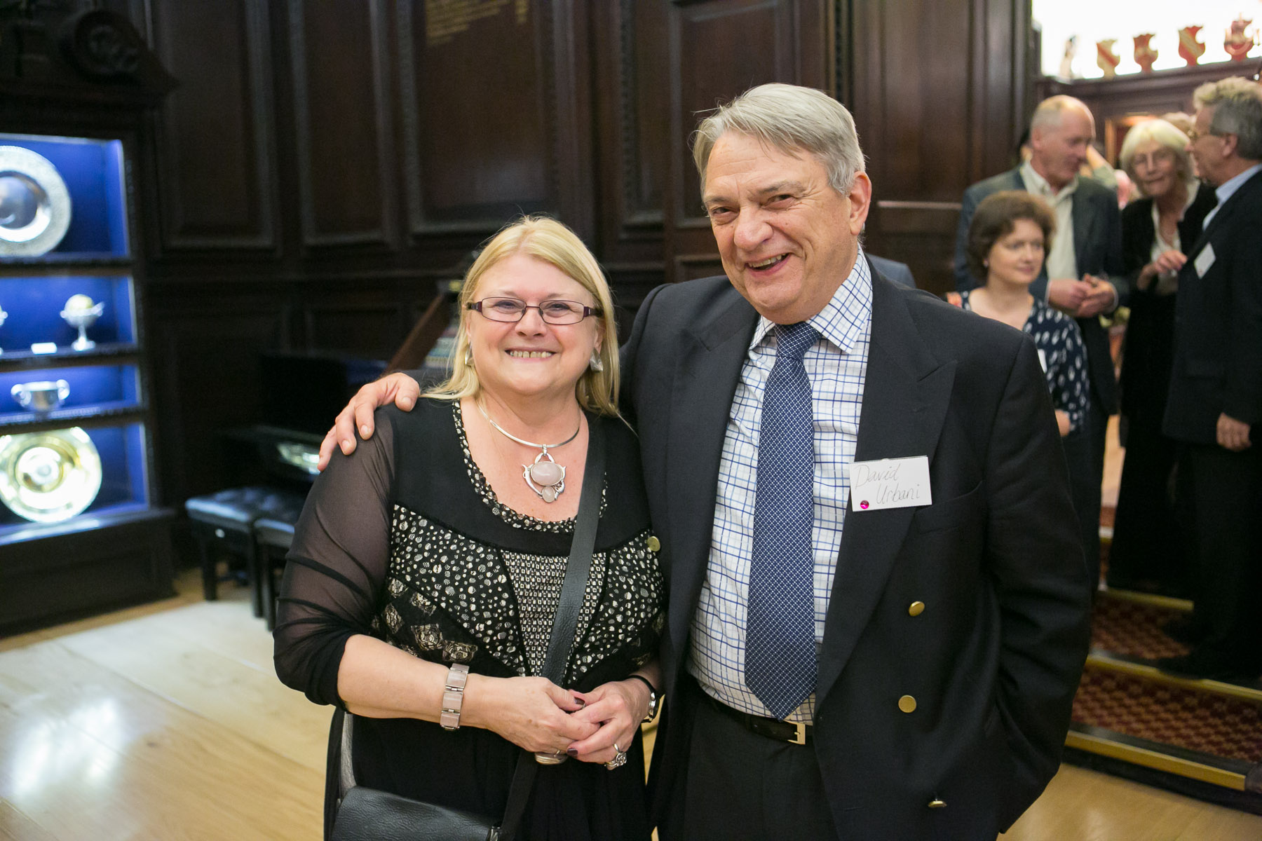 Carole Blake, David Urbani