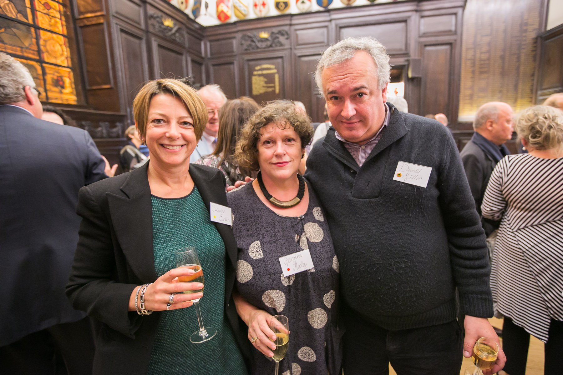 Catherine Eccles, Georgina Morley, David Miller