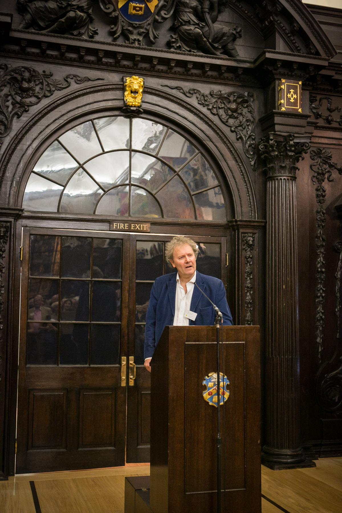 Conrad Williams speaking