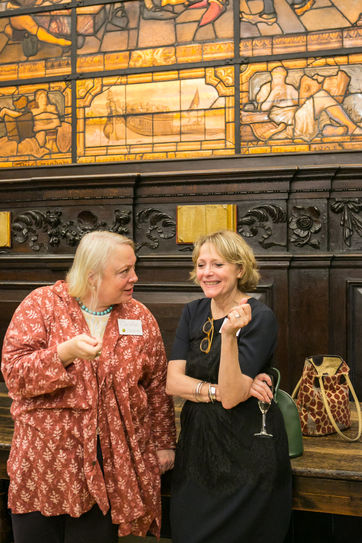 Caroline Dawnay, Lennie Goodings