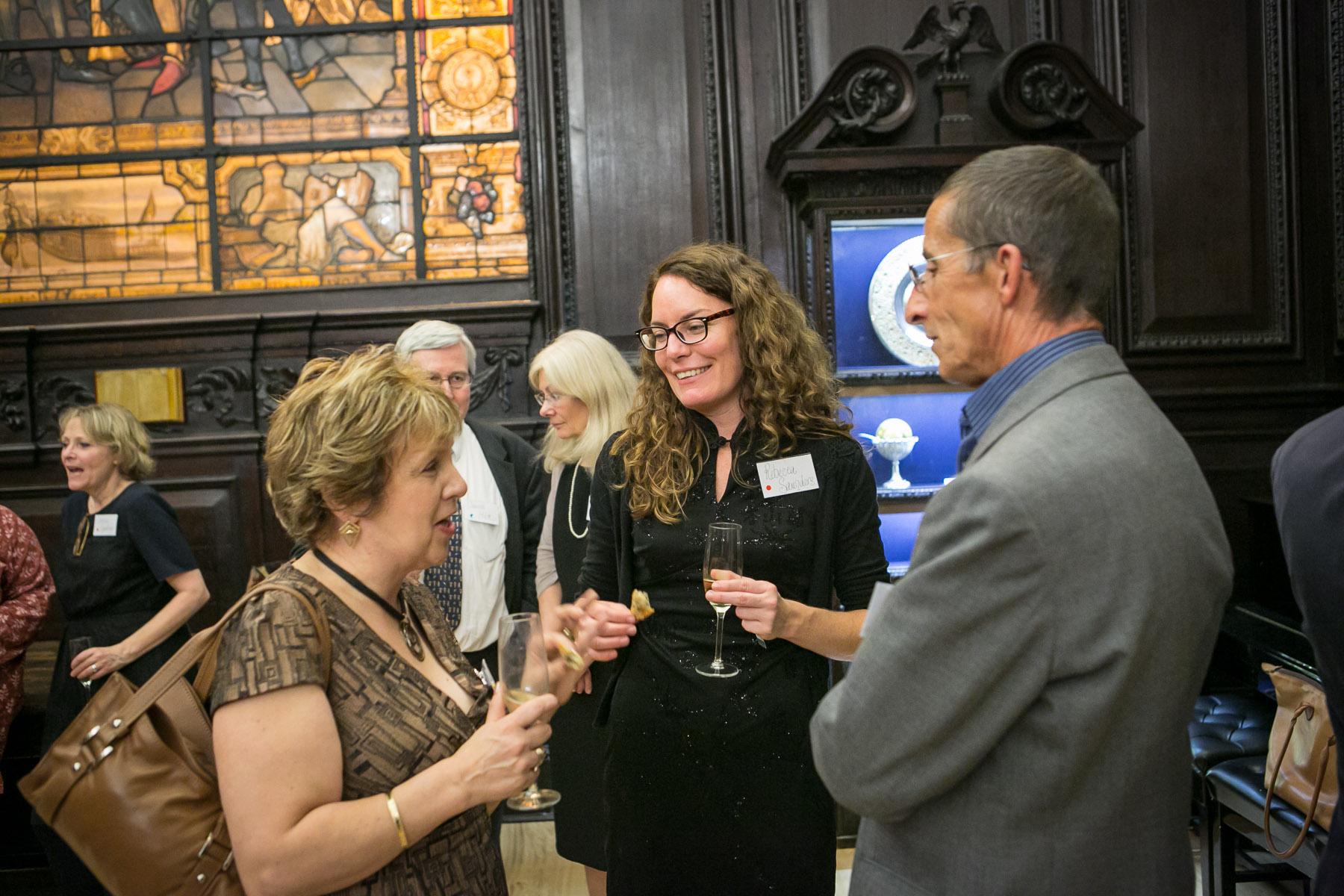 Elizabeth Chadwick, Rebecca Saunders, Roger Hicks