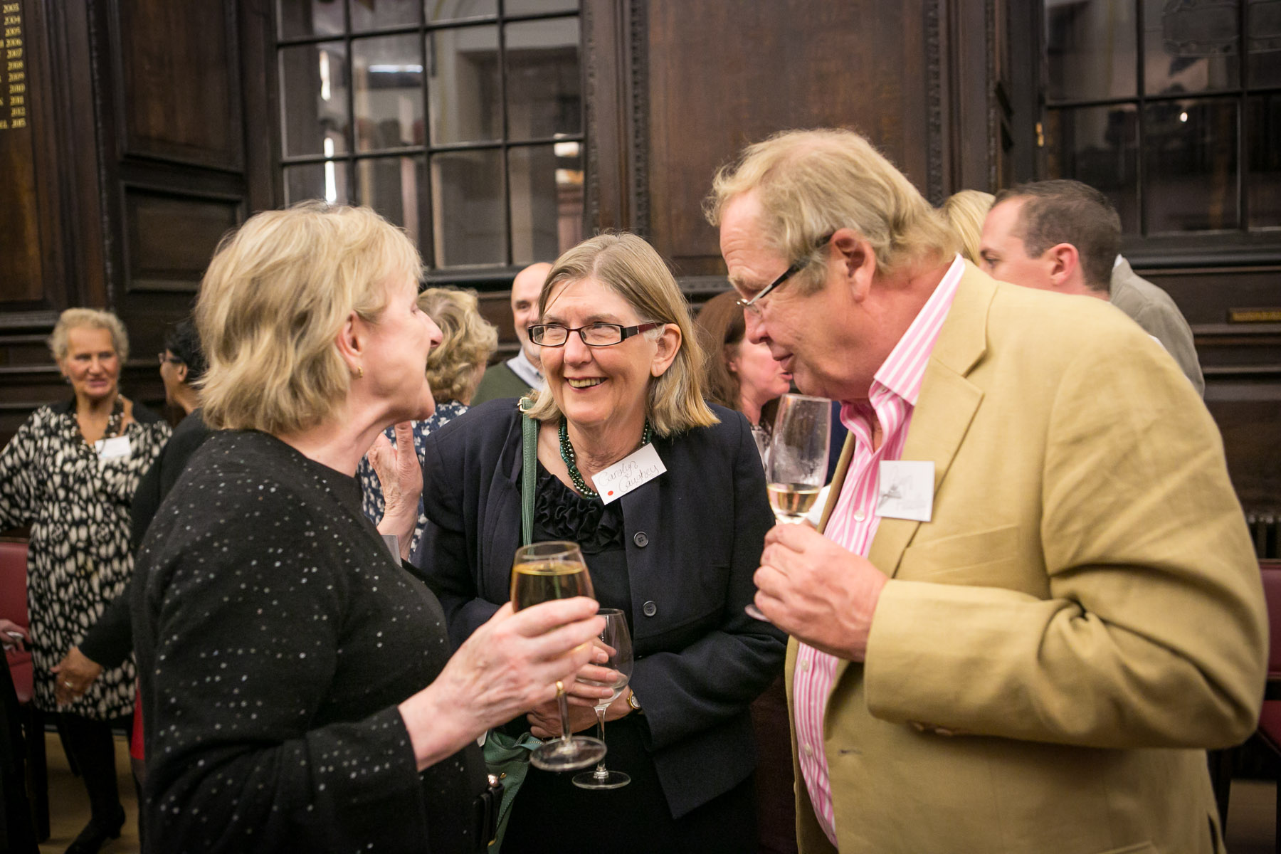 Carol Smith, Carolyn Caughey, Gwyn Headley
