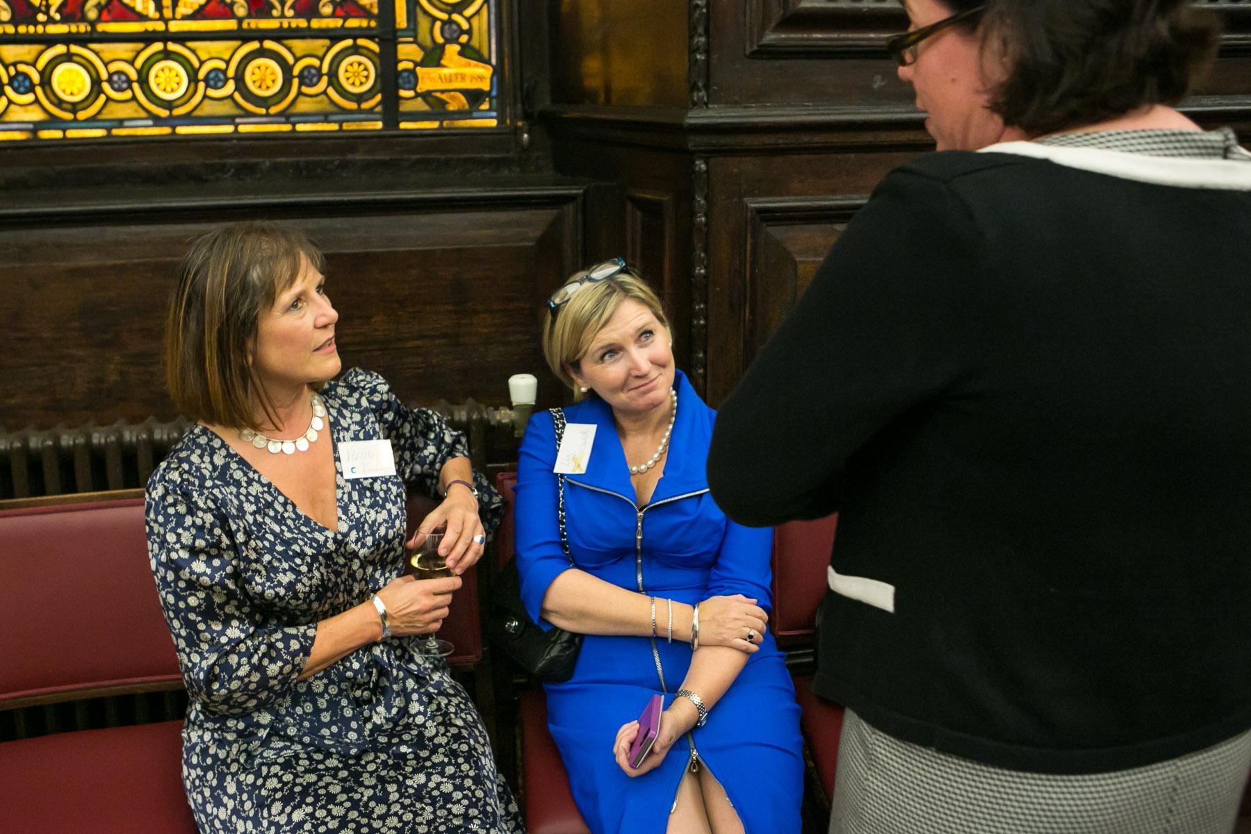 Vivienne Wordley, Liz Fenwick, Brigid Coady