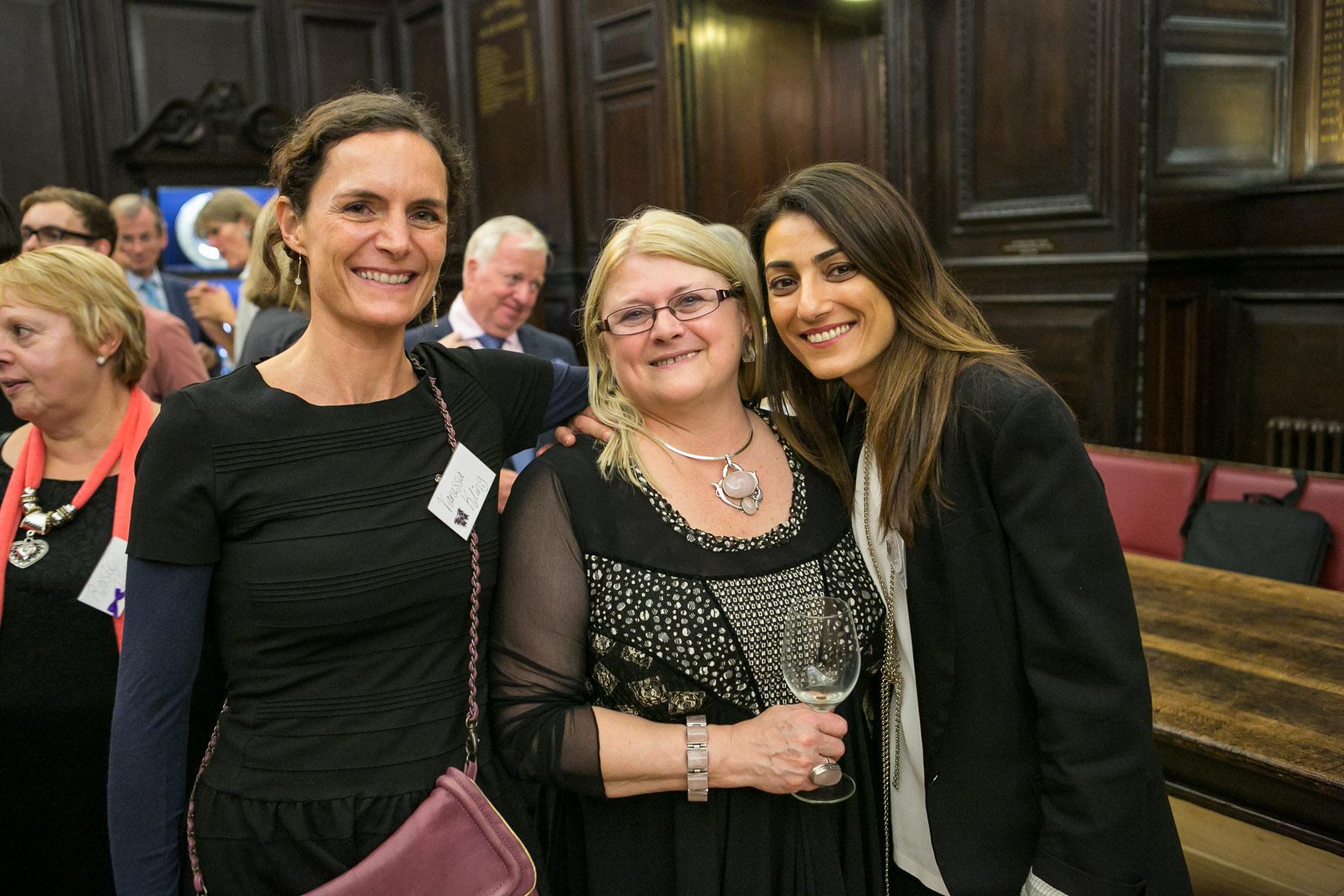 Vanessa Kling, Carole Blake, Michele Kanonidis