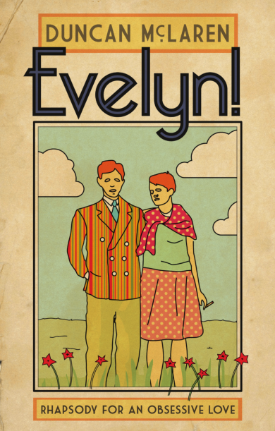 EVELYN!  Biography, 260 pages Harbour Books Ltd, 29 April 2015   A most personal and surprising biography of Evelyn Waugh which, for the very first time, also examines in full the love triangle between Waugh, Evelyn Gardner and John Heygate. Adopting the same disruptive and inquisitive approach as his previous works, McLaren manages to produce an entirely new portrait of Evelyn Waugh to those painted by more traditional recent biographies.