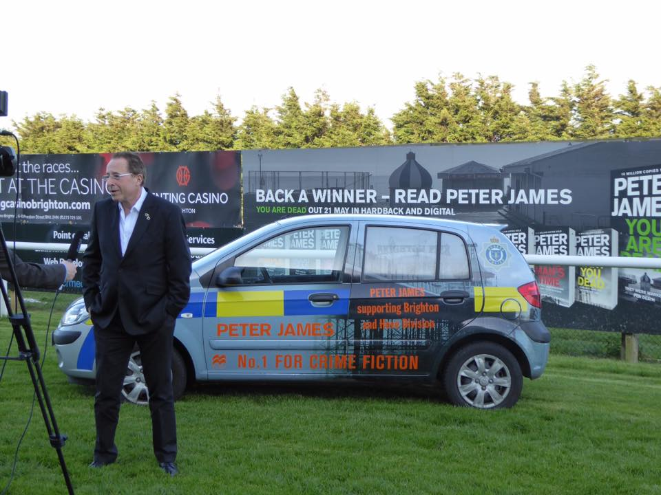 Peter James with PJ Car.jpg