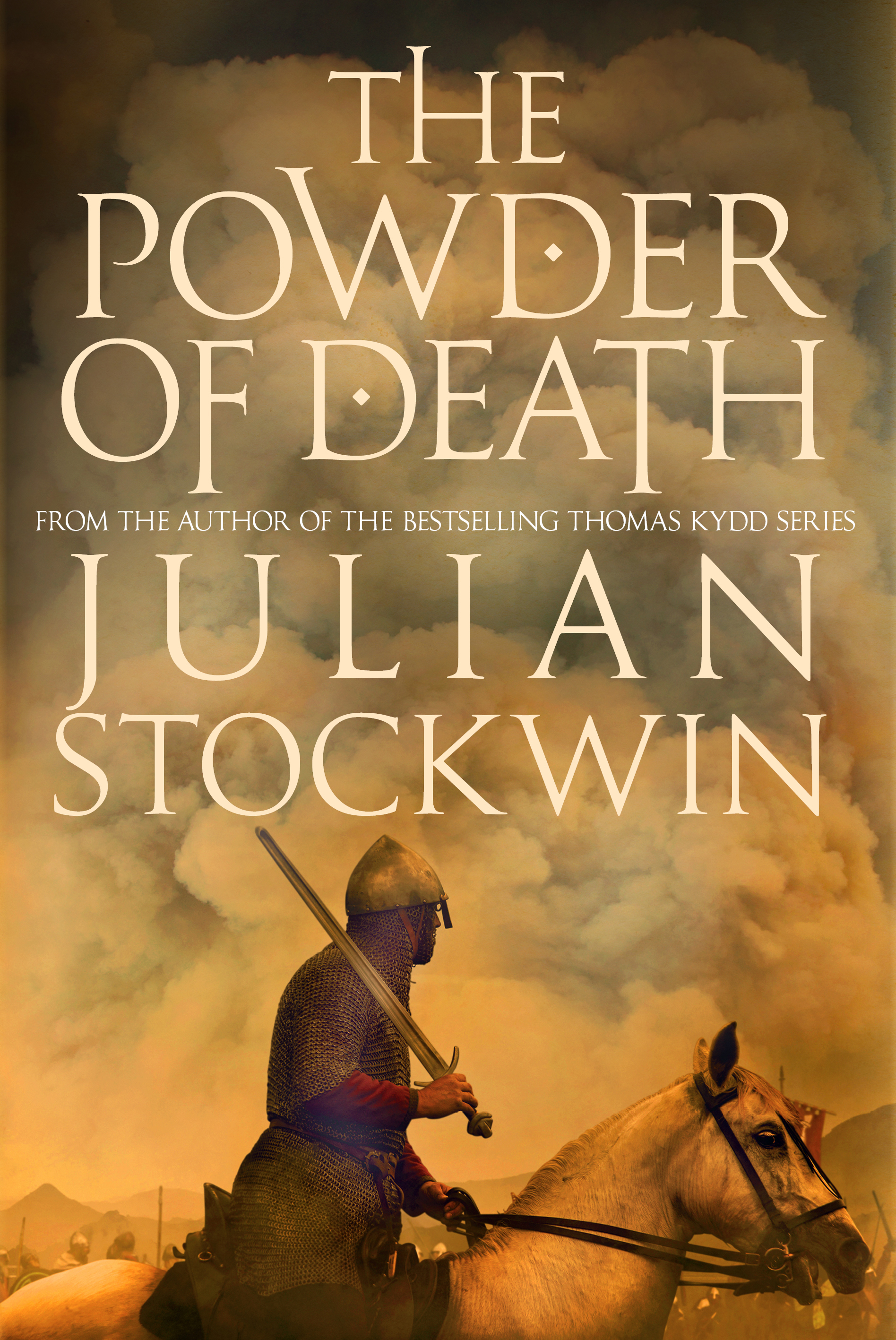THE POWDER OF DEATH  Historical fiction, 384 pages Allison & Busby, August 2016  The dramatic re-discovery of gunpower after it was deliberately hidden for centuries. Adventure story based on facts.