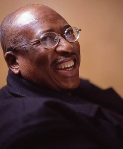 Author Zakes Mda. Photograph by Sal Idriss