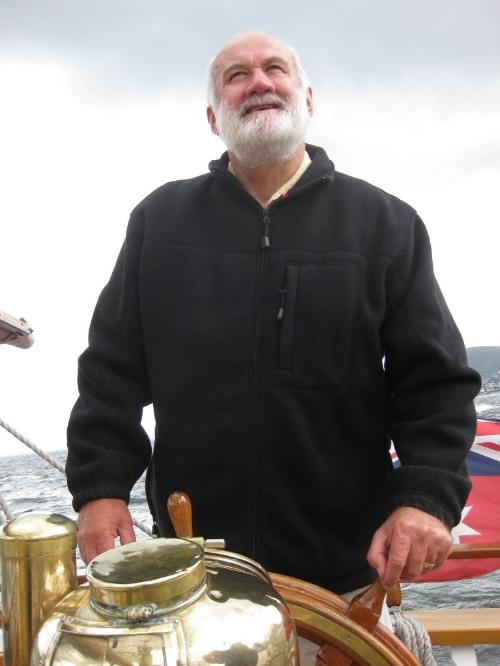 Julian at sea