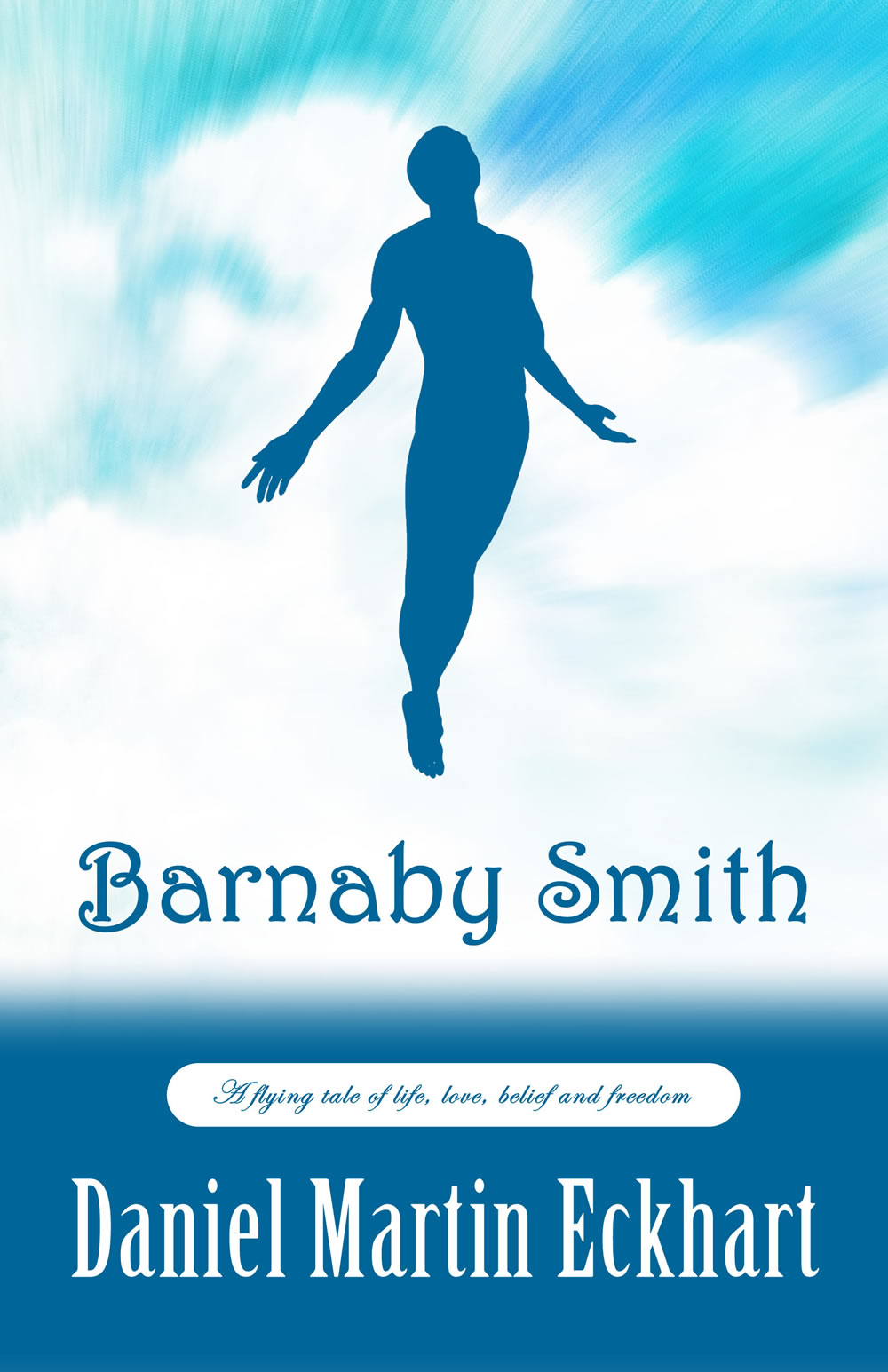 BARNABY SMITH  Contemporary, 238 pages Amazon KDP, Jan 2015  Barnaby Smith is the tale of a most unusual journey by a despairing psychiatrist and her patient - a story about life, love, belief, compromise and freedom ... and yes, the dream of human flight. Six months after her son's suicide, psychiatrist Dr. Martha Lewis takes on a position at Brooklyn's St. Joseph's Hospital where she is given the charge of the Barnaby Smith. Barnaby has tried to fly, like a bird, his entire life. He has jumped off roofs nine times, he has broken every bone in his body. Martha makes it her obsession to bring this man back into life, to save him ... only to realize that Barnaby just may be the key to her own salvation.
