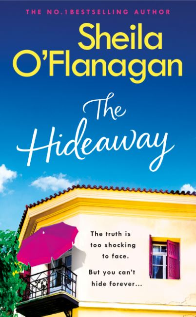 THE HIDEAWAY by Sheila O'Flanagan, Headline Front cover.JPG