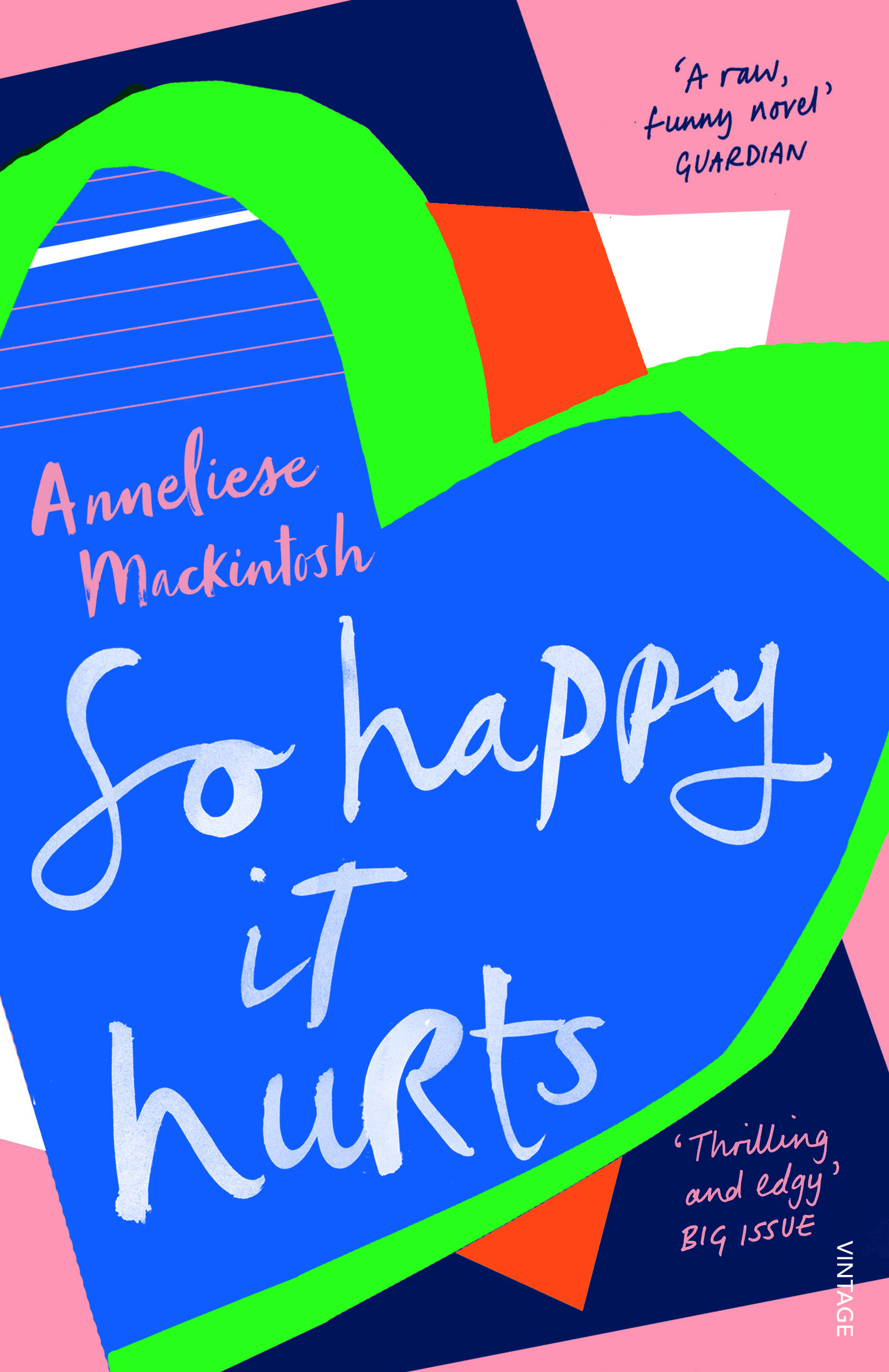SO HAPPY IT HURTS  Literary, 224 pages Cape, July 2017   'I want to be a good person. And I want to be happy. So happy it hurts. I need you to help me with that.'   Ottila McGregor is thirty years old and has decided it's time to sort her life out. She's going to quit drinking, stop cheating, and finally find true happiness. Easy, right?  Of course not.