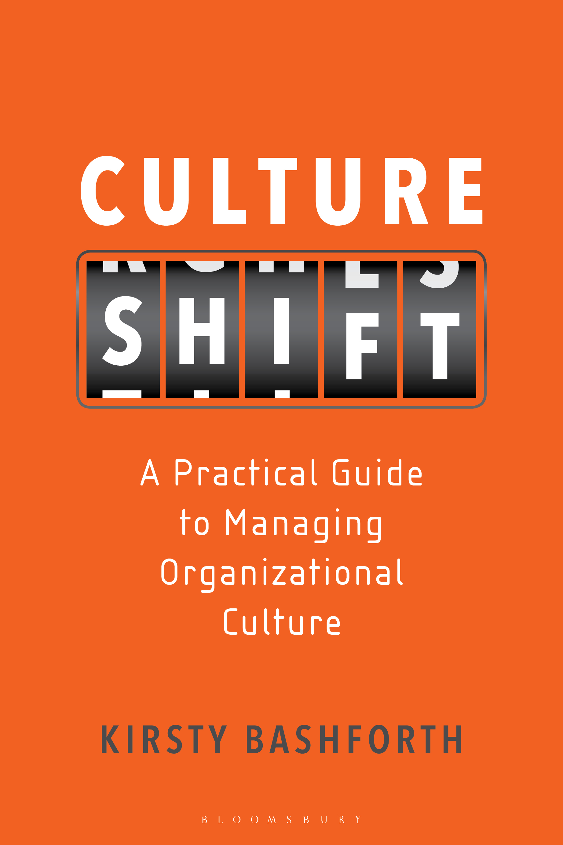 CULTURE SHIFT  Business, 232 pages, Bloomsbury Business, July 2019  Nowadays, stakeholder consideration focuses as much on an organization's culture as it does on the bottom line - employees want to work for a company that has clear values and an engaging environment; customers and clients want to know they're supporting a worthwhile brand; and investors look to back socially responsible companies with good organizational health.  Too often, too many businesses see culture change as a project with a defined end point once the project is considered 'done', the dominant culture re-emerges and things go back to how they were. Culture Shift guides organizations on how to do things differently, ensuring that culture really does shift (with minimal budget and no external consultants) and putting culture permanently at the core of running the business.  Founded on behavioural economics, Culture Shift recognises that people do not always make average assumptions or follow rational logic. Changing a culture, therefore, is not about telling people what to do and expecting them to fall neatly in line - it's about identifying where they are now and how they make decisions, in order to help them form new habits to create a sustainable culture shift, from the very top of the organization's workforce to the bottom.  Using her extensive experience, Kirsty Bashforth outlines exactly what it takes to oversee sustainable culture change in an organization. The book explores how to communicate cultural expectations to a number of stakeholders; implement new, lasting habits in the workforce; effectively measure and track organizational culture; as well as deal with pushback from senior leadership when, as time passes, the planned culture shift risks falling lower on their agenda