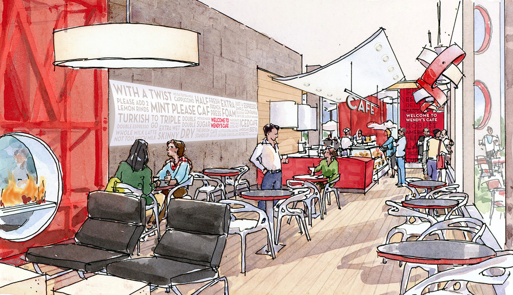 Wendy's Cafe Concept 1