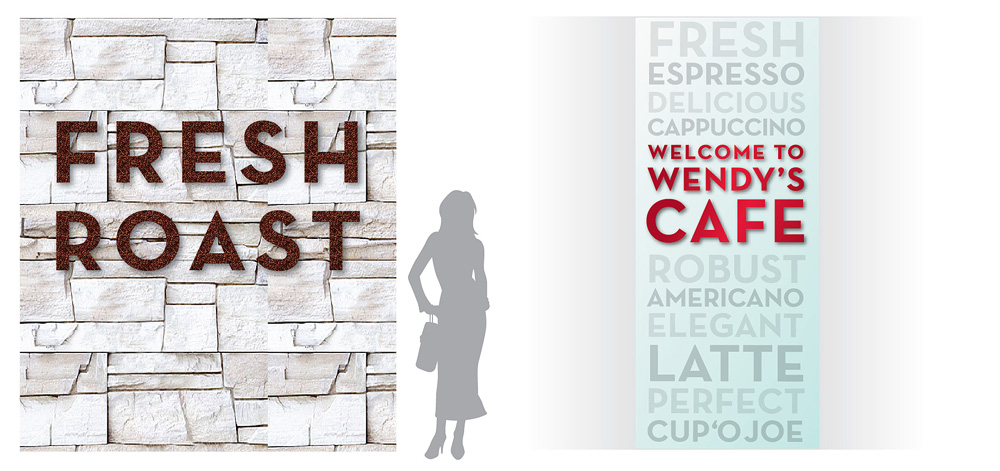Wendy's Cafe Concept 2 Detail