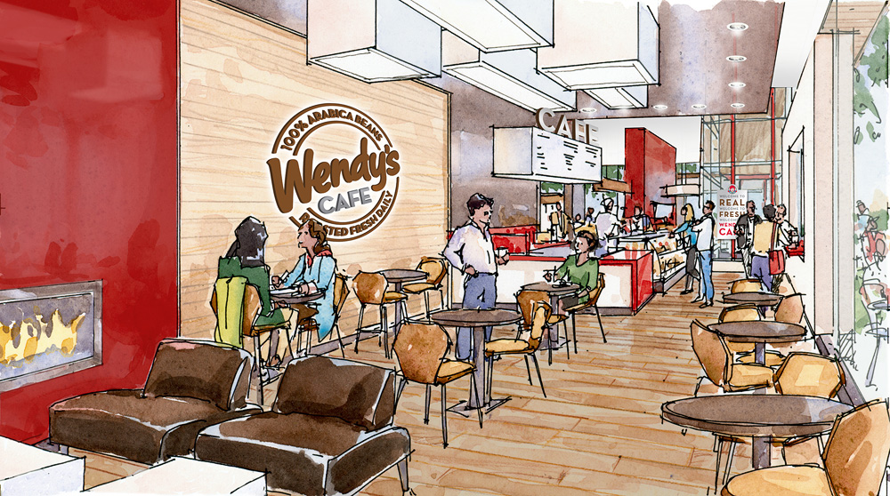 Wendy's Cafe Concept 3