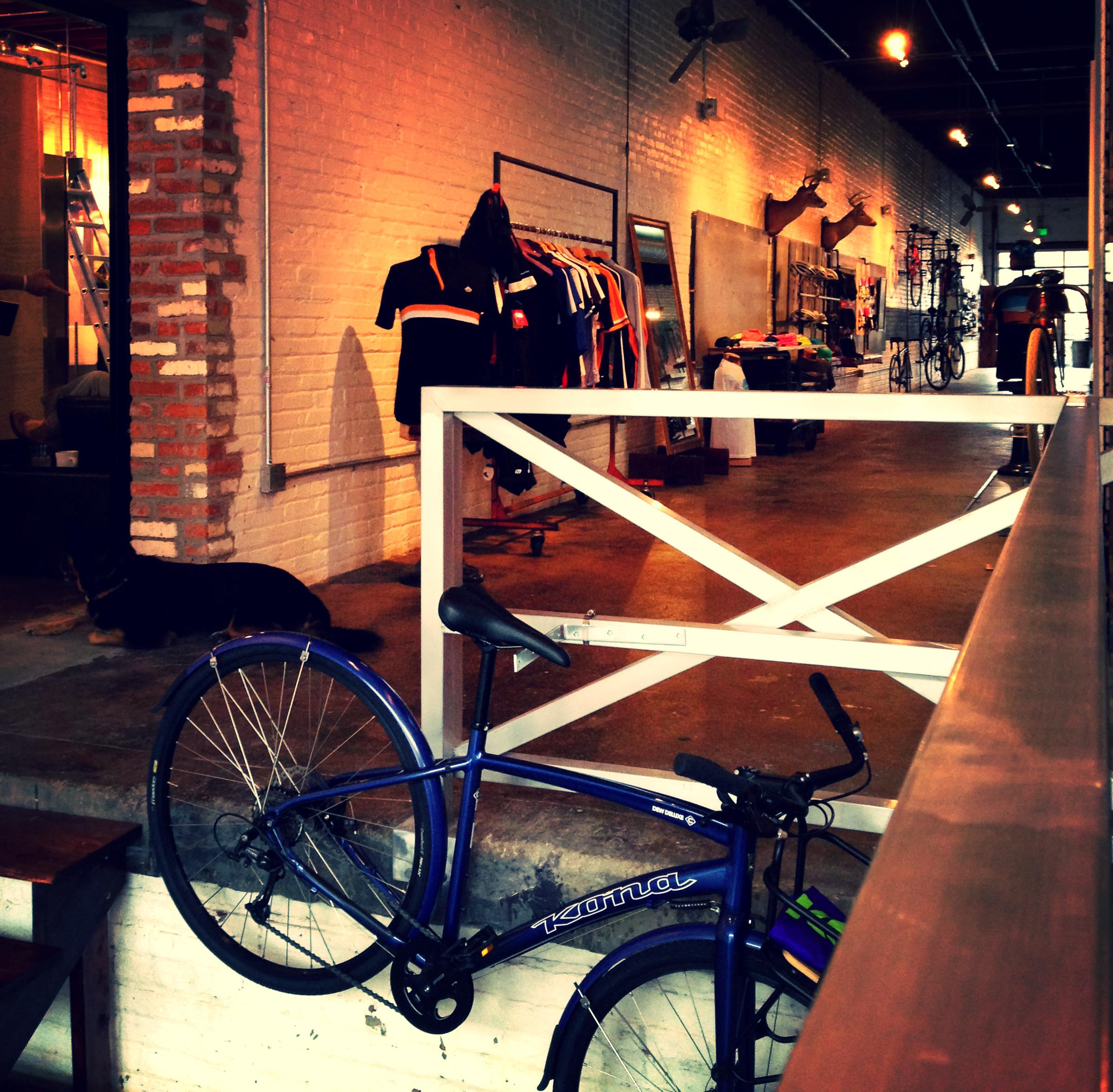 Richmond Bicycle Studio - one earned revenue arm of RCC.