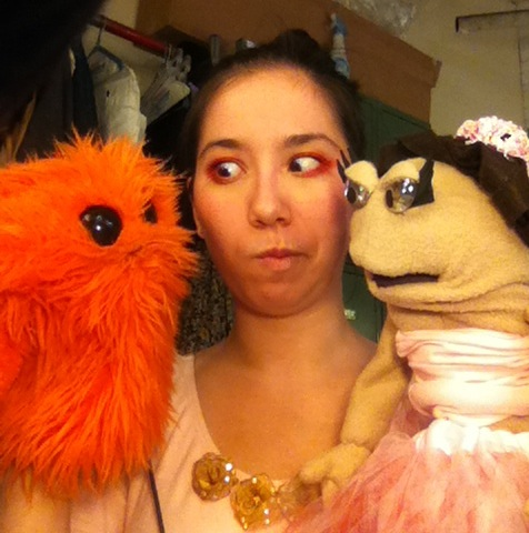 Washburne doesn't know how he feels about the other puppet in my life, Farrah.