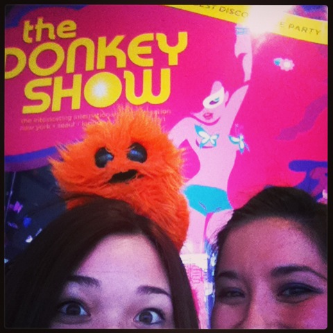 Donkey Show audition with JoJo!