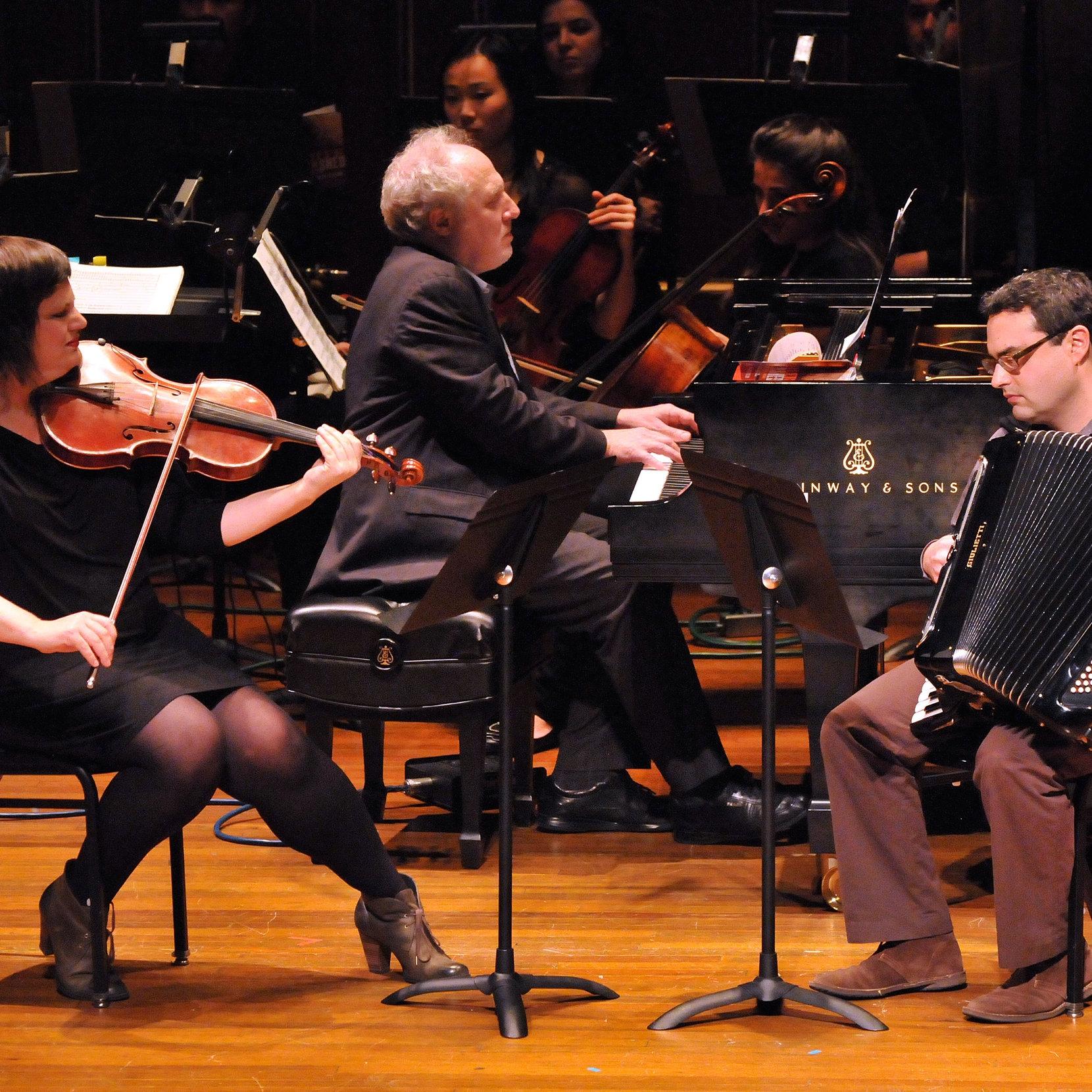 KCR Trio - YOUR Average viola, accordion and piano trio.