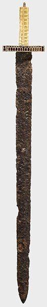 Hun sword, 5th century AD