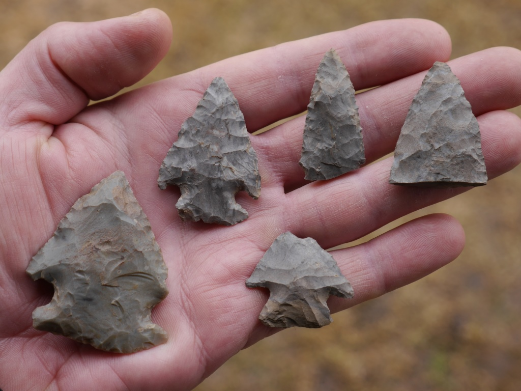 Stone tools at least 5,000 years old from a site in Ontario, Canada, investigated under my direction since the mid 1990s.