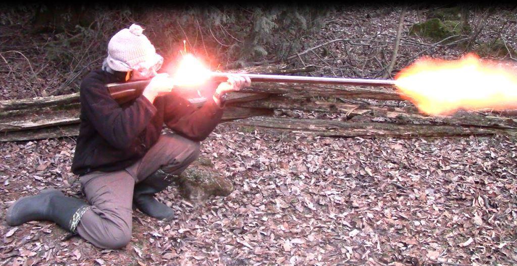 Flintlock Pennsylvania rifle