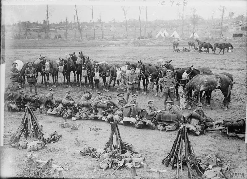 Somme Lancers resting.jpg