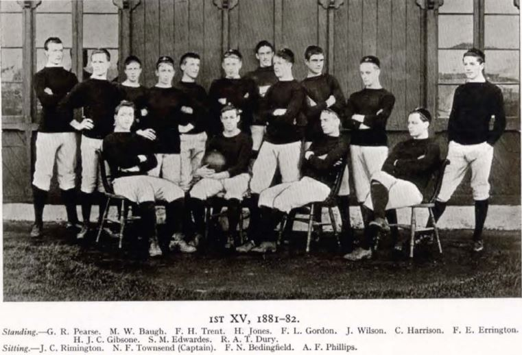 Frank Gordon, top row fifth from left.