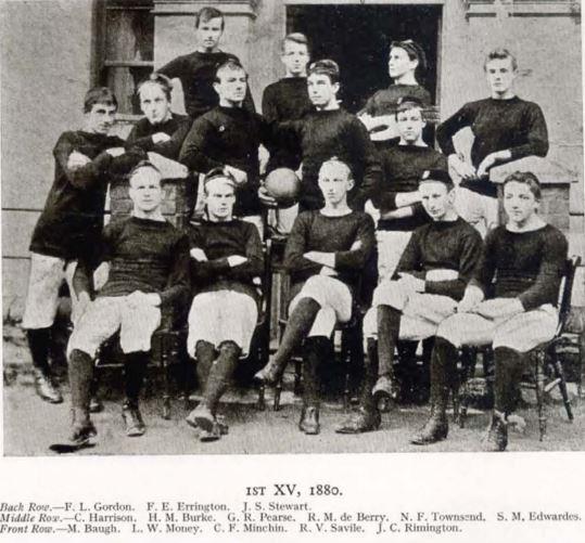 Frank Gordon, top left.
