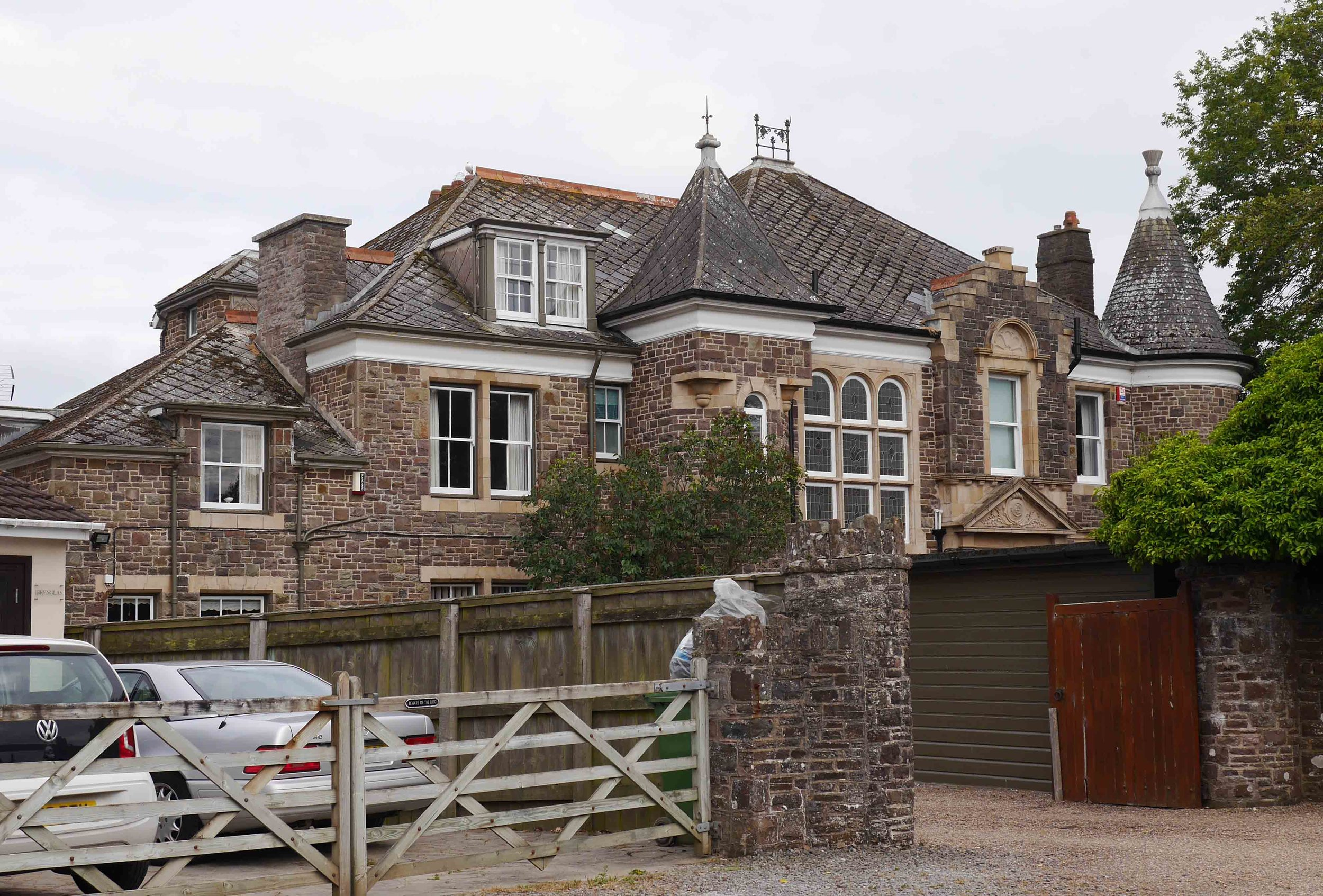 Cluden Bank, in Northam, Devon, where Edward lived with his father and two of his sisters after his return from New Zealand in 1910. The house was built in 1909 by his father and named after the ancestral Gordon home near Dumfries in Scotland. It was less than a mile from United Services College at Westward Ho!, where Edward and his two brothers went to school. My grandfather Captain Lawrance Wilfred Gibbins remembered spending time at this house as a boy with his Gordon relatives before and during the First World War.