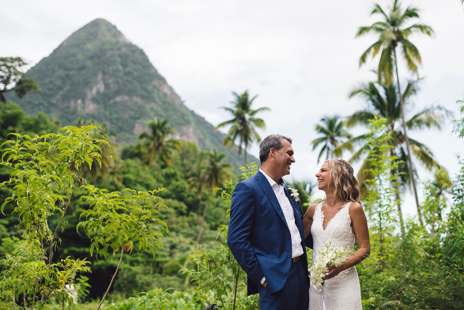 FEATURED WEDDING:   St. Lucia