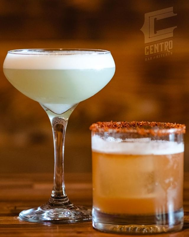 """Stop by and try something new at Centro. Ask about our August drink specials and try our Fatina Gialla """"Yellow Fairy"""" or the Alameda Crisp. We'll be happy to shake one, or both up for you."""